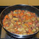 Step six: Cover the pan and simmer for 8-10 minutes or till carrot becomes soft.