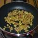 Sauté until the onions turn translucent.