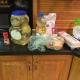 Assemble ingredients.