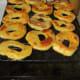 Bake in 400 degree oven for 25 minutes until egg turns golden brown.