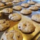 Allow cookies to cool slightly before removing them from baking sheets.