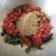 Add the prepared sambar powder.