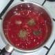 preparing simple homemade tomato sauce