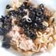 Add the sliced black olives