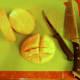 Chop mango