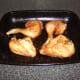 Roast tandoori chicken is allowed to rest