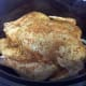 Place chicken on top of onion slices in crockpot.