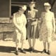 Three sisters: My great grandmother is on the right and my great aunt Alvina (the author of this recipe) is in the middle.