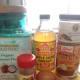 The ingredients for Paleo pumpkin pancakes.