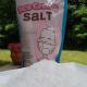 Rock salt or ice cream salt helps cool the ice cream evenly.