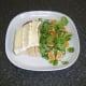 Camembert is laid on toast