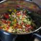Vegetables added.