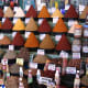 Berber and Mediterranean spices in a local Moroccan spice market