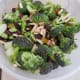 Mix everything in the bowl until well combined. Pour dressing you have prepared and set aside over mixture and combine well until broccoli mixture is coated.