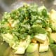 Add 1/2 cup of chopped cilantro.