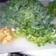 Chop potatoes small.