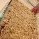 Crumble Topping Before Baking