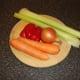 Vegetables for making duck stock