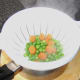 Peas and carrots for fish pie