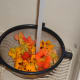 Rinse the Nasturtium flowers thoroughly.