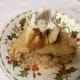 Sans Sucre Apple Coffeecake.  Add a few fresh apples, cinnamon, and sugar-free whipped cream to make an elegant dessert that is around 100 calories.