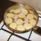 Deep frying potato discs