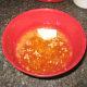Make the orange sauce.