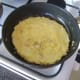 Basic omelette is ready for topping