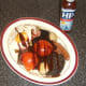 Hp Sauce is an optional but delicious accompaniment to an all day Scottish breakfast