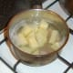 Parboiling tatties and neeps