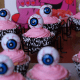 Eyeball decorations.