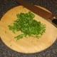 Chopped flat leaf parsley