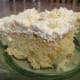 Pineapple cream cake ready to eat