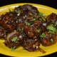 Mix the fried vegetable balls with gravy (made as per instructions) to get delicious Mixed Vegetable Manchurian.
