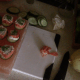 Top each salmon roll with a little bit of fresh dill as a garnish.
