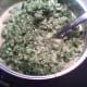 Stirring in broccoli