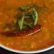 Step two: Make sambar as per instructions.