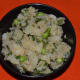 The potato tikki mix.