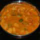The kadhai mixed vegetable curry, ready to enjoy!