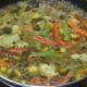 Step five: Pour corn flour mix and soy sauce
