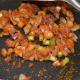 Step four: Stir-fry till you get a nice aroma from the spices.