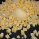 Step three: Saute sweet corn kernels in butter.