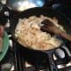 Sautéed onions.