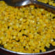 Step six: Sweet corn snacks is ready. Turn off the stove.