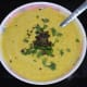 Pumpkin raita is ready to serve. Serve it with plain rice, rasam rice, parathas, or flatbreads. Enjoy the soothing taste!