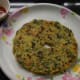 Step 9: Your palak thalipeeth or spinach pancakes are ready to eat. Serve them with tomato sauce or a cup of yogurt. Enjoy!.