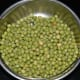 Step 1: Soak dried green peas overnight. Cook them with water and some salt.