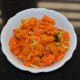 Your favorite carrot stir-fry is ready! Serve with roti, rice, chapati, or flatbread. Enjoy!