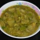 Another look at the authentic brinjal sambar.