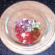 Prepared salsa ingredients
